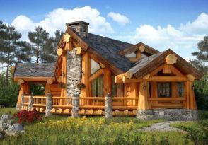 Строительство деревянных домов под ключ в короткие сроки