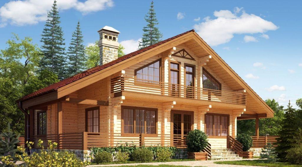 Строительство домов из клееного бруса под ключ и недорого